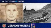 Marine Veteran Vernon Waters is today's Veteran of the day.