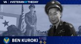 Army Air Forces Veteran Ben Kuroki is today's Veteran of the Day.
