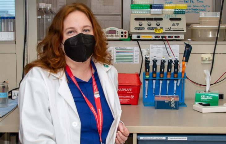 A former bench scientist, Dr. Brandy Wade now works for VA as a technology transfer specialist and also serves as the unpaid director for the nonprofit Science for Georgia, which focuses on science communication