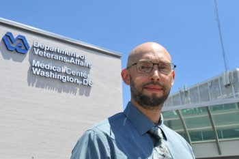 Strebel, a computer programmer at the DC VA, has earned VA awards for his innovations.