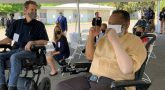 50 personal mobility devices donated to VA and Vets who use them