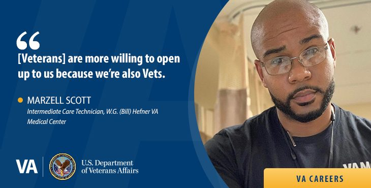 Learn about the benefits of a VA Career as an Intermediate Care Technician