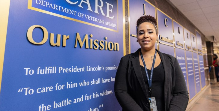 Learn about the education benefits of a VA Career.