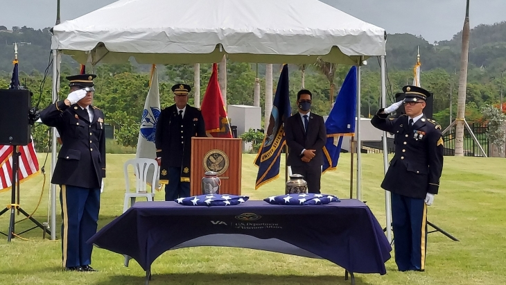 First interment at Morovis NC