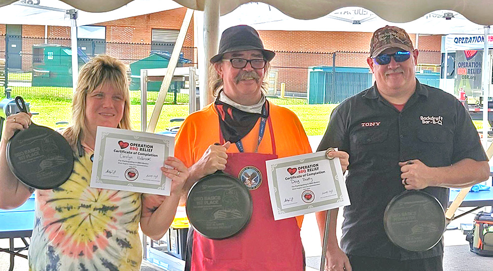 Winners of the BBQ Bootcamp competition
