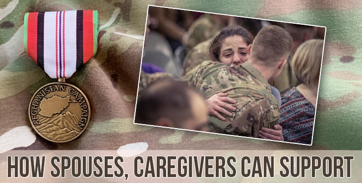 Afghanistan: How spouses, caregivers can support Veterans with PTSD