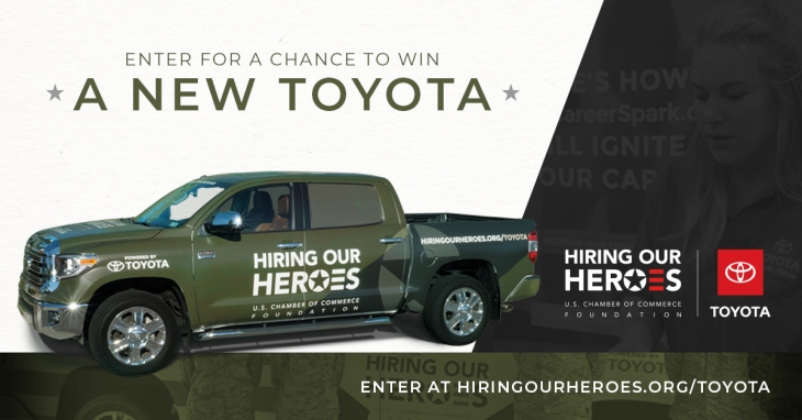 HOH giving away a new Toyota