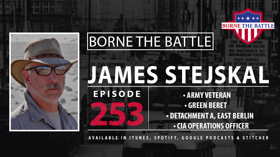 Army Veteran James Stejskal spent nine years in West Berlin during the Cold War, now talking about clandestine missions on Borne the Battle.