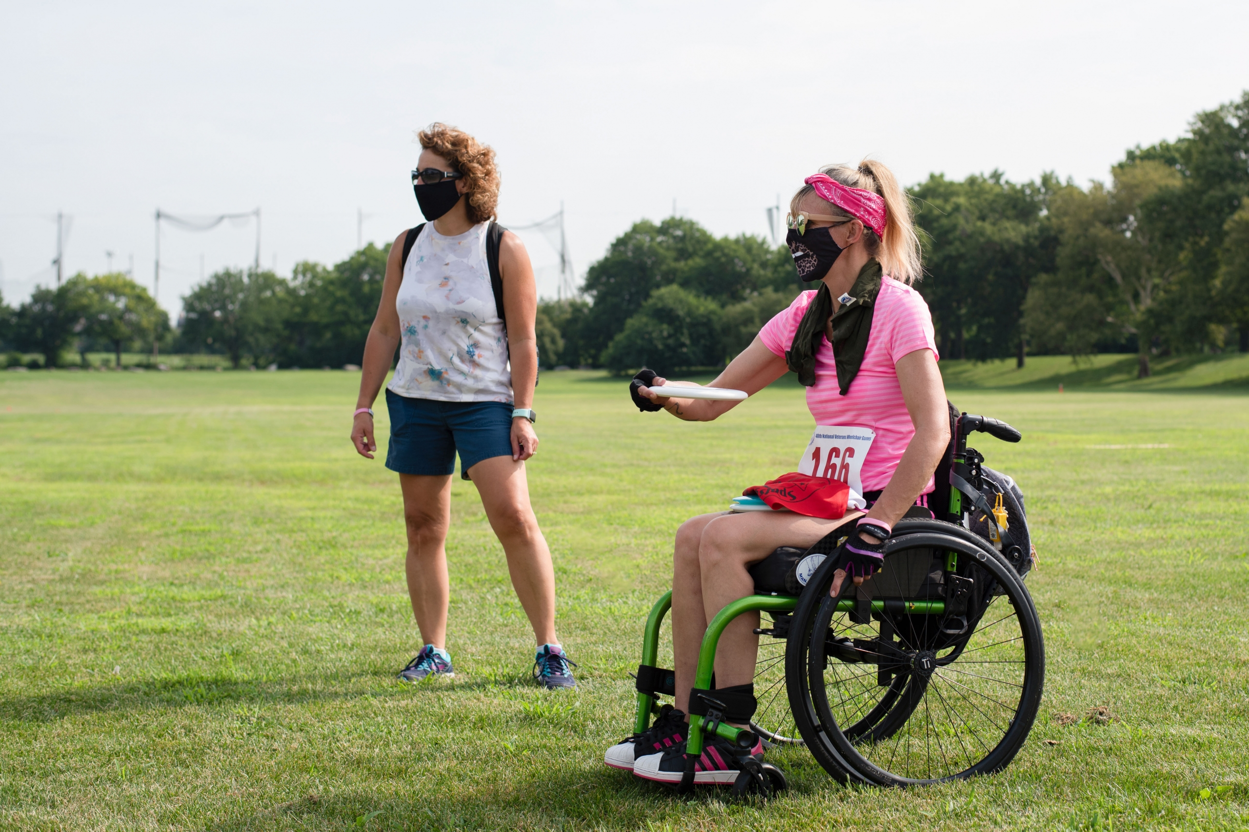 Competitor at Wheelchair Games finds motivation