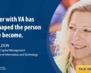 Angie Weldon with VA's Office of Information and Technology discussed information technology careers on our Talk About It Tuesday broadcast.