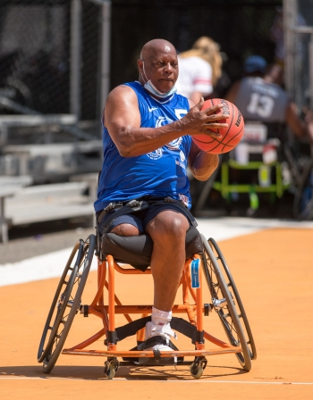 Wilkins lost his right leg in a roadside bomb explosion in Afghanistan.