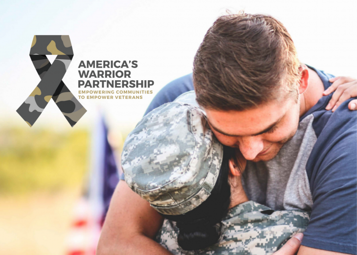 America's Warrior Partnership (AWP) is dedicated to provide support so Veterans understand where and how they can access resources locally.