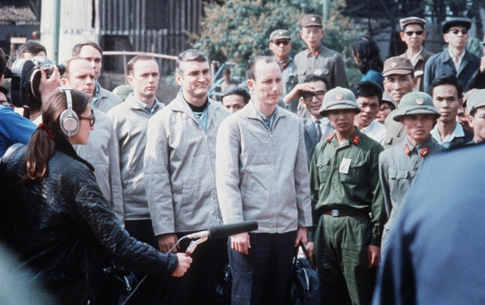 American POWs being released