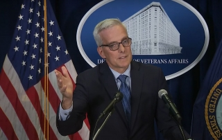 Veterans are seeing changes in claims, along with an emphasis on homelessness and COVID-19 vaccinations, VA Secretary Denis McDonough said Oct. 20 at a press conference in Washington, D.C.