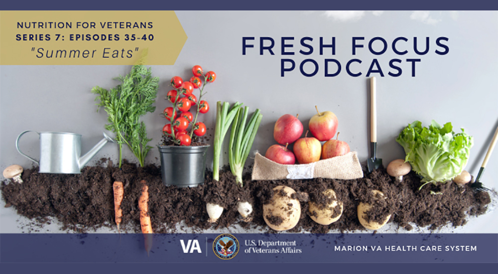 Fresh Focus Fruits and vegetables and dirt